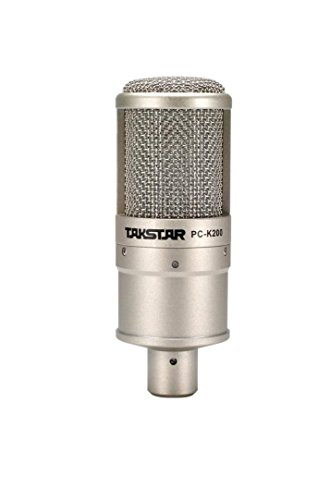 Takstar PC-K200 (Microphone + Shock mount) Only by TAKSTAR