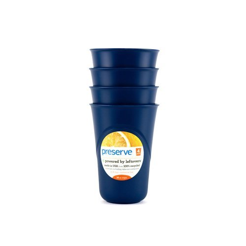 Preserve Everyday Cups - Midnight Blue - Case Of 8 - 4 Packs