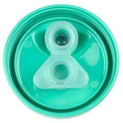 Re-Play Made in the USA 3pk No Spill Sippy Cups for Baby, Toddler, and Child Feeding - Sky Blue, Navy Blue, Aqua (True Blue) by Re-Play (Image #7)