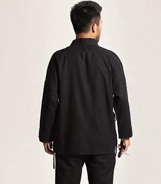 Longues Acvip Homme Manches Traditionnelle Noir Blouson vtwqHtx6