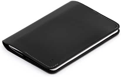 Bellroy Notebook Cover, leather, fits a small (3.5 x 5.5 inch) notebook or 1–2 passports