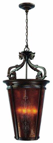Eurofase 19346-014 Casanova 4-Light Lantern, Antique Bronze/Mica