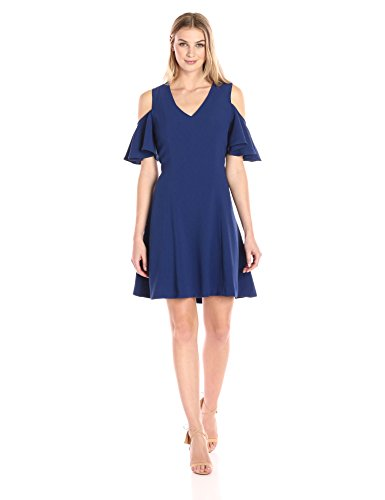 lark-ro-womens-dresses-cold-shoulder-a-line-navy-extra-small