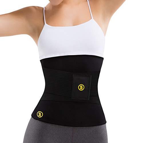 Hot Shapers Hot Belt with Waist Trainer – Women's Sweat Waist Trimmer Corset