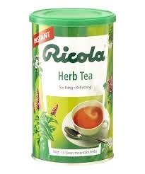 Ricola Herbt Tea with 13 Mountain Herbs, Soothing & Refreshing 200g by Ricola