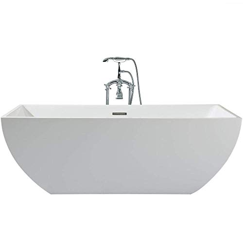 Check Out This DKB Aquarius UB111-6730 Freestanding Acrylic Bathtub 67 x 30 Inches