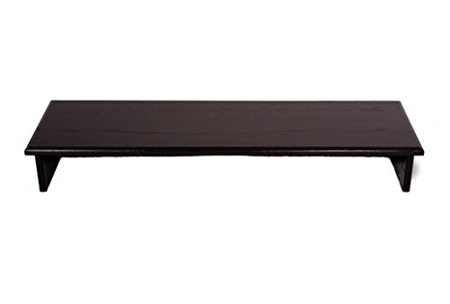 Amazon Com Black Sound Bar Tv Riser 40 Wide X12 Deep X 5 1 2