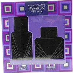 Elizabeth Taylor Passion for Men Gift Set Cologne Spray 4 oz & After Shave 4 oz