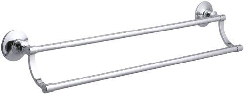 Kohler K-11051-CP Archer 24-Inch Towel Bar, Polished Chrome delicate