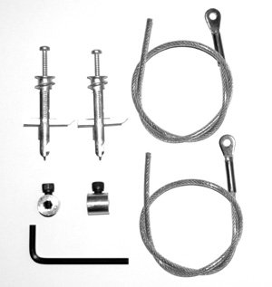 Metal Stud Earthquake Restraint Kit