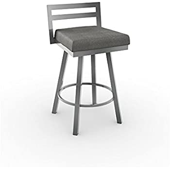Amazon Com Amisco Amisco Derek Swivel Counter Stool 26 In