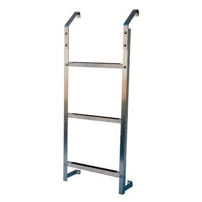 Dyne, Inc. 3 Step ''Ultra Protect'' Egress Basement Window Well Escape Ladder 3ESL