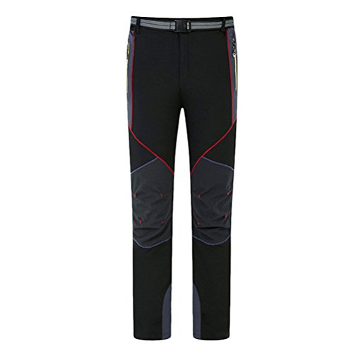 Waterproof Premium Hiking Pants 3190 Zhuhaitf Multi Men's Trousers color Black 1wIxUqZ