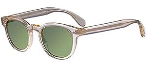 505333b7c792 ... Oliver Peoples Unisex Sheldrake Sun Buff Green Vintage Sunglasses