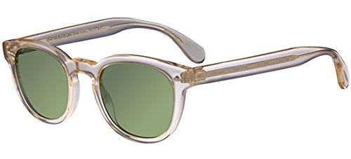 Oliver Peoples Unisex Sheldrake Sun Buff/Green Vintage (Peoples Sunglasses Oliver)