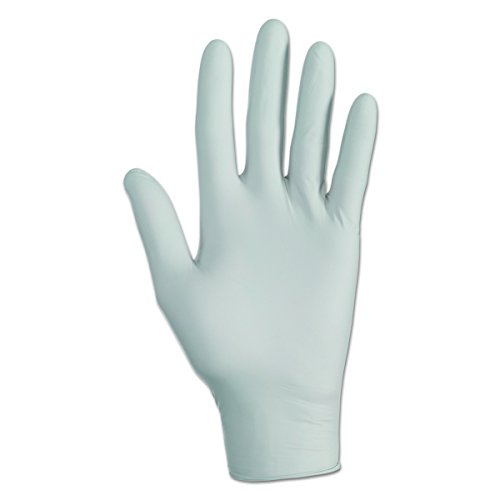 KLEENGUARD 97820 G10 Grey X-Small Nitrile Gloves (1,500 per Case) by Kimberly-Clark Professional