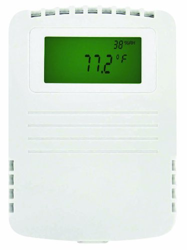 Dwyer Series RHP-W Wall Mount Humidity/Temperature/Dew Point Transmitter, Wall Mount, 4-20 mA Output by Dwyer (Image #1)