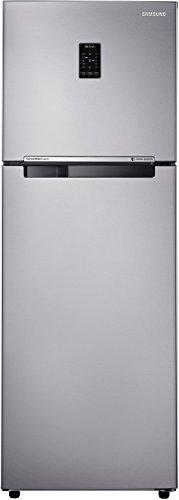 Samsung 345L 4 Star Frost Free Double Door Refrigerator  RT36JSRYESA/TL, Grey, Convertible, Inverter Compressor