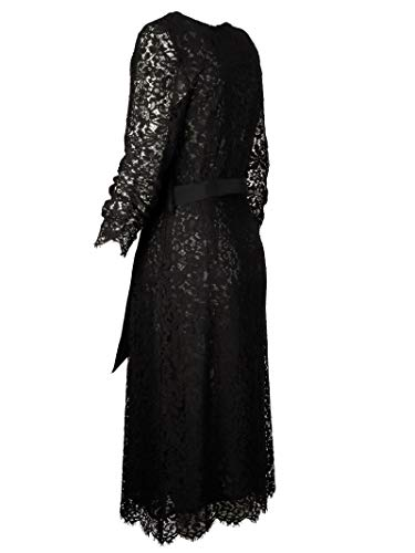 h Noir r s D722245013 o Viscose P Femme Robe a 0U5BpxqxnI