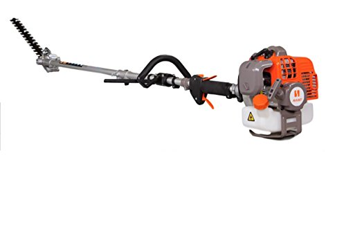 Gas Powered 43cc Hedge Trimmer extendable to 13ft by KASEI