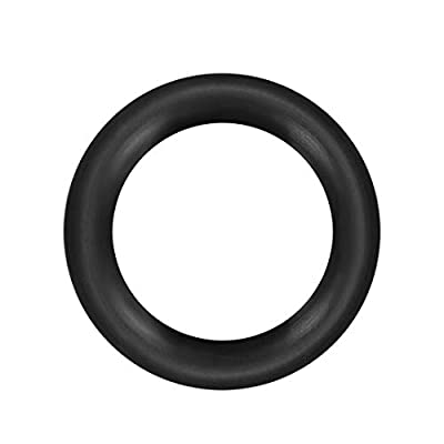 uxcell O-Rings Nitrile Rubber Outside Diameter 2mm Thick Seal Rings Gaskets