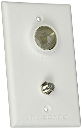 Winegard Company PA1200-2 TG-7341 Tv Outlet/Receptacle White