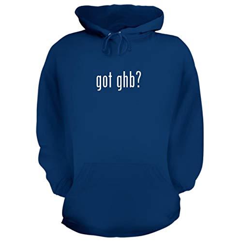 BH Cool Designs got GHB? - Graphic Hoodie Sweatshirt, Blue, - Ghb Iron Flat