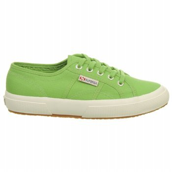 8821a9d7c67 Superga 2750 Classic - Green Canvas Low-Top Sneaker - Size  41
