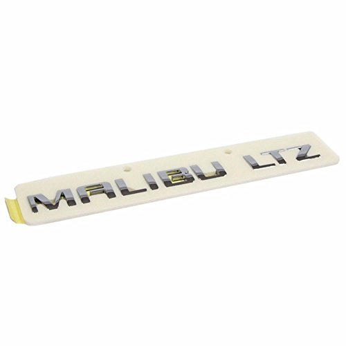 Malibu Emblem (Malibu LTZ Trunk Rear Emblem Logo for GM Chevrolet 2012+ Malibu OEM Parts)