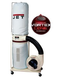Jet DC-1200VX-BK1 Dust Collector 2HP 1PH 230-Volt 30-Micron Bag Filter Kit