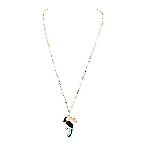 Kate Spade Toucan Long Necklace Multi