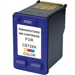 C8728a Colour - COS Imaging Compatible Ink Cartridge Replacement for HP C8728A, 28. (Color)
