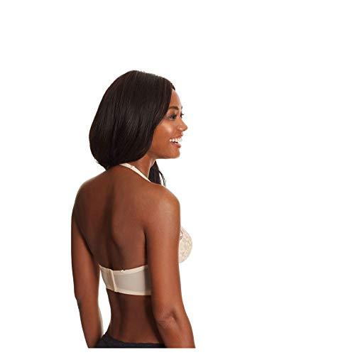Maidenform Women's Casual Comfort Halter Bralette Bra, Paris Nude, 36B