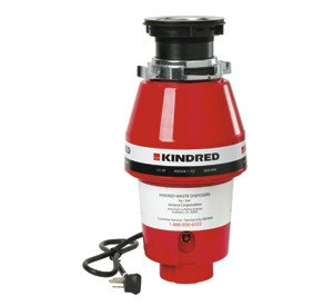 Kindred Continuous Feed 1/2 HP Waste Disposer by Kindred Sinks
