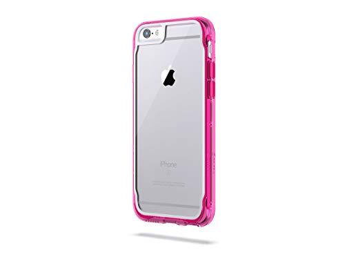 Griffin Cell Phone Case for Apple iPhone 6/6s Plus - Pink/White,/Clear