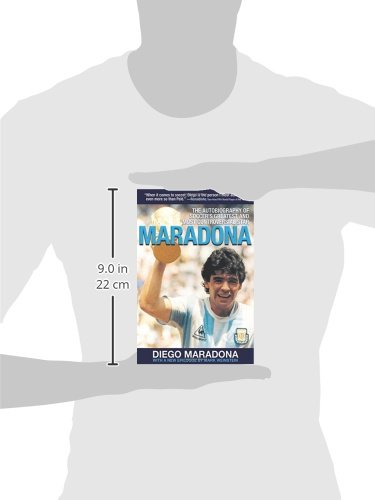 Maradona: The Autobiography of Soccer's Greatest and Most Controversial Star by Brand: Skyhorse Publishing (Image #1)