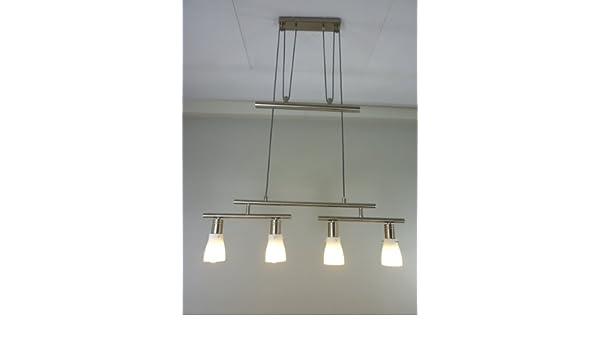 Moderna lámpara de techo de cristal