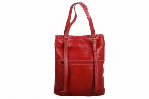de Rouge Katana gras Sac 322015 à dos Sac K cuir shopping Vachette 8q1YrqfP