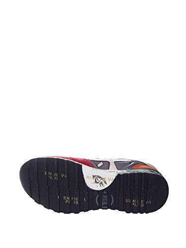 PREMIATA Sneaker in Tessuto Tecnico e Camoscio con Para in Gomma Disegnata