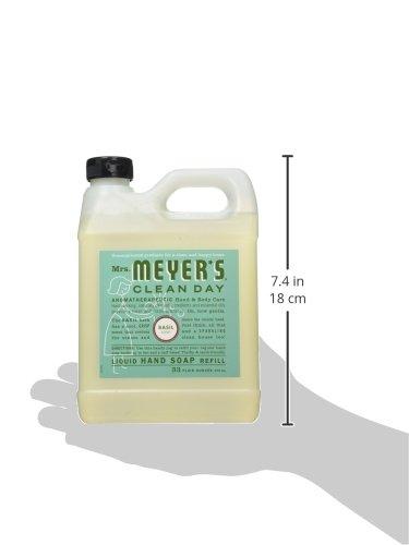Mrs-Meyers-Clean-Day-Hand-Soap-Refill-Basil-33-fl-oz