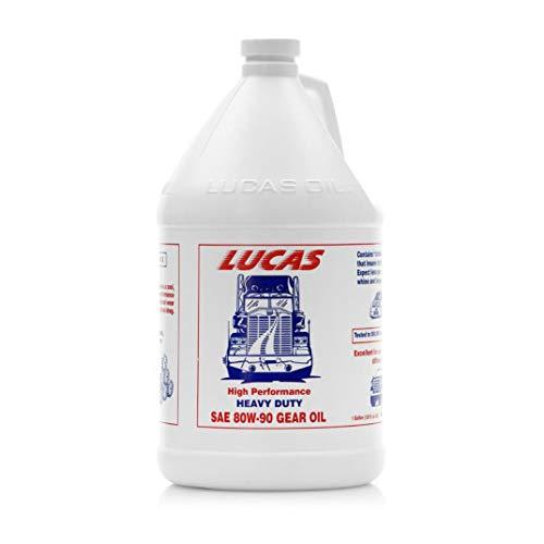 Lucas Oil LUC10046 SAE 80W-90 Heavy Duty Gear Oil - 1 Gallon