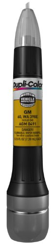 Dupli-Color AGM0491 Metallic Gold General Motors Exact-Match Scratch Fix All-in-1 Touch-Up Paint – 0.5 oz.
