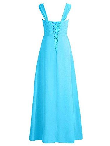 Prom with Green Chiffon Dress Spaghetti Botong Bridesmaid Lime Straps Long Dark Navy Dress HzwnXSq