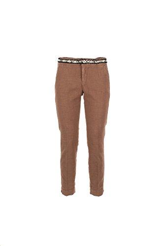 Pantalone Donna Kaos 28 Marrone Hpjbl055 Primavera Estate 2017