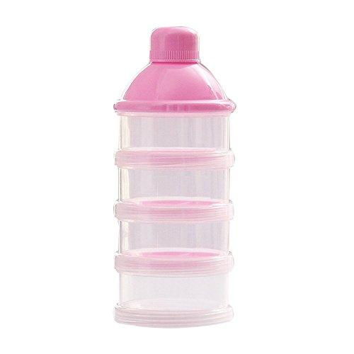 Hrph Tragbare Baby-Säuglingsnahrung Milchpulver & Food Behälter Flasche 3 Zellen Gitterbox