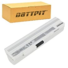 Battpit™ Laptop / Notebook Battery Replacement for MSI Wind U100 (6600 mAh) (Ship From Canada)