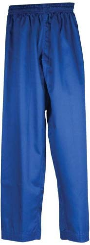 Tiger Claw Martial Arts Pants Blue Poly/Cotton #3 by Tiger Claw