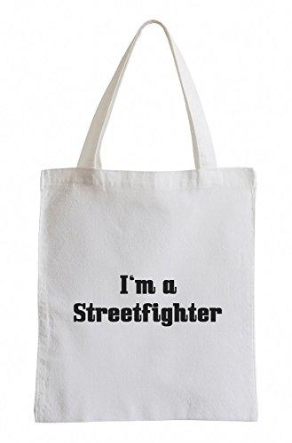 I'm a Streetfighter Fun UFC Boxing Jutebeutel