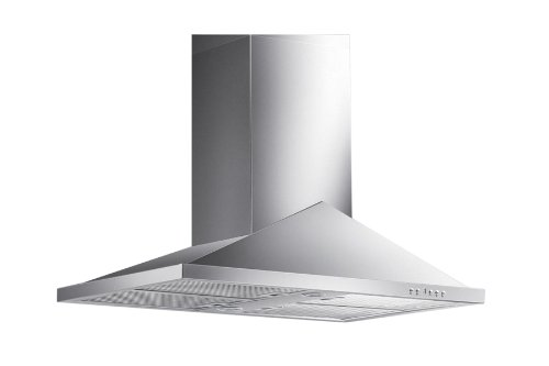 "Blue Ocean 30"" RHL01I Stainless Steel Island Mount Kitchen Range Hood"