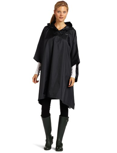 (Sierra Designs Unisex Storm Poncho,Small/Medium, Black)